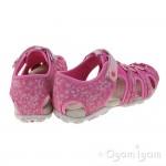 Geox Roxanne Girls Fuchsia Closed toe Sandal