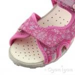 Geox Roxanne Girls Fuchsia Sandal