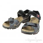 Rieker 6885112 Womens Denim Blue Sandal