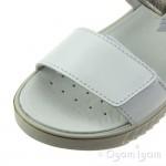 Primigi PAU 33916 Girls White Bianco Platino Sandal