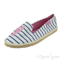 Joules Flipadrille White Lobster Womens White Lobster Shoe