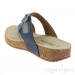 Josef Seibel Tonga 23 Womens Blue-Combi Sandal