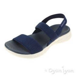 Skechers On The Go Flawless Womens Navy Sandal