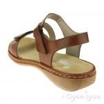Rieker 659C724 Womens Reh Brown Sandal