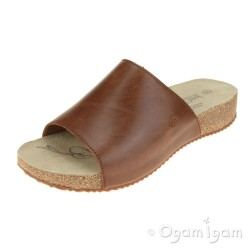 Josef Seibel Tonga 51 Womens Camel Brown Sandal