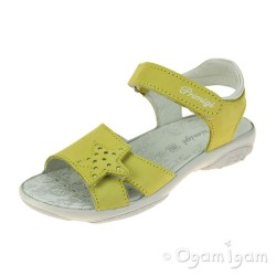 Primigi PBR 33888 Girls Giallo Yellow Sandal