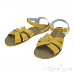 Salt-Water Original Womens Mustard Yellow Waterfriendly Sandal