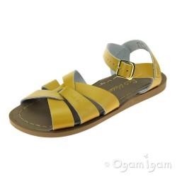 Salt-Water Original Girls Mustard Yellow Waterfriendly Sandal