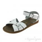 Salt-Water Classic White Girls White Waterfriendly  Sandal