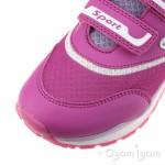 Geox Pavel Girls Fuchsia-Lilac Trainer