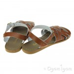 Salt-Water Retro Womens Tan Waterfriendly Sandal