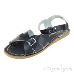 Salt-Water Classic Womens Navy Waterfriendly Sandal