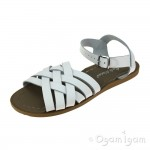 Salt-Water Retro Womens White Waterfriendly Sandal