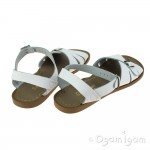 Salt-Water Classic Womens White Waterfriendly Sandal