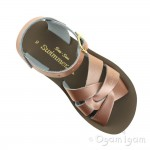 Salt-Water Swimmer Girls Rose Gold Waterfriendly Sandal