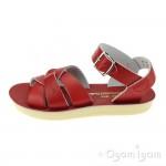 Salt-Water Swimmer Girls Red Waterfriendly Sandal