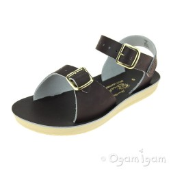 Salt-Water Surfer Boys Girls Brown Waterfriendly Sandal