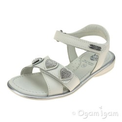 Lelli Kelly Noemi Girls Bianco White Sandal