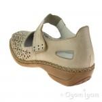 Rieker 413G760 Womens Vanilla Shoe