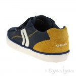 Geox Kilwi Boys Navy-Yellow Shoe