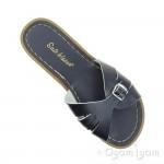 Salt-Water Classic Slide Womens Navy Waterfriendly Sandal