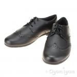Clarks Scala Lace Girls Black School Shoe
