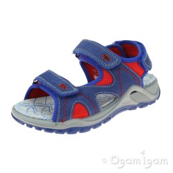 Primigi PTU 33974 Boys Blue-Red Sandal