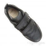Geox Perth Boys Black School Shoe