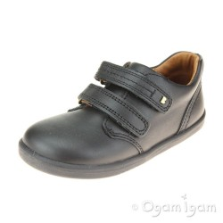 Bobux Port Boys Black School Shoe
