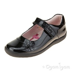Lelli Kelly Leora Girls Black Patent School Shoe