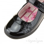 Lelli Kelly Leora Girls Black Patent School Shoe