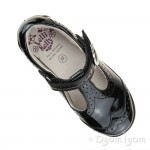 Lelli Kelly Jennette Girls Black Patent School Shoe