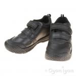 Start-rite Strike Boys Black School Shoe