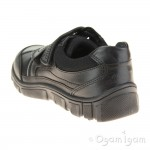 Start-rite Luke Boys Black School Shoe