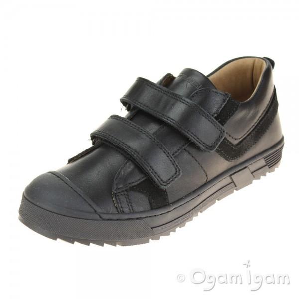 Primigi 44231 Boys Black School Shoe