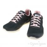Skechers Flex Advantage 3 Womens Charcoal-Pink Trainer