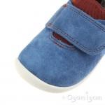 Clarks Roamer Seek Infant Boys Blue Combi Shoe