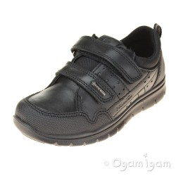 Primigi 43887 Boys Black Waterproof School Shoe