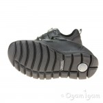 Primigi 43887 Boys Black Waterproof School Shoe
