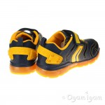 Geox Android Boys Navy-Dark Yellow Trainer