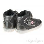 Geox Kilwi Girls Dark Grey Boot