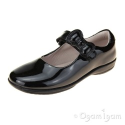 Lelli Kelly Colourissima Girls Black Patent School Shoe (style 8802)