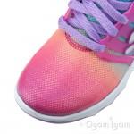 Skechers Diamond Runner Girls Neon Pink-Multi Trainer