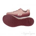 Skechers SkechAir Element Womens Burgundy-Pink Trainer