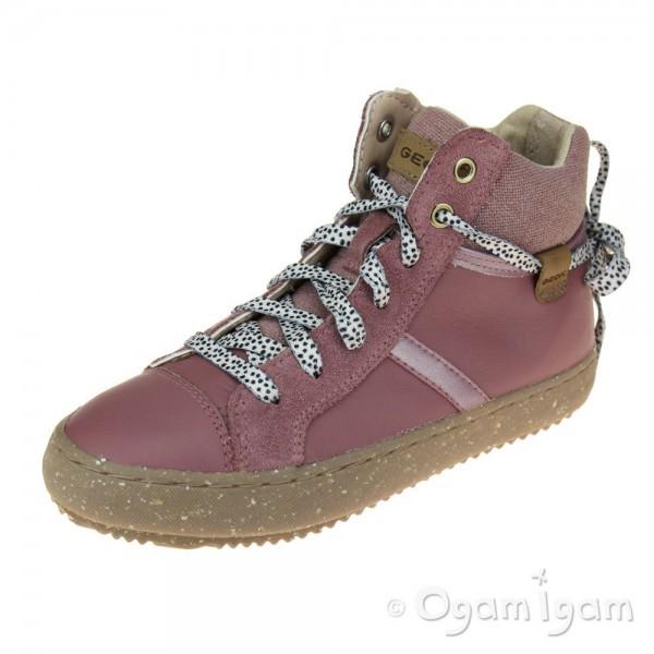 Geox Kalispera Girls Dark Rose Boot