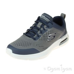 Skechers Dyna Air Pelland Mens Navy-Charcoal Trainer
