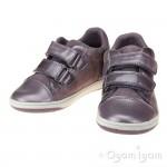 Geox Flick Girls Light Prune Shoe