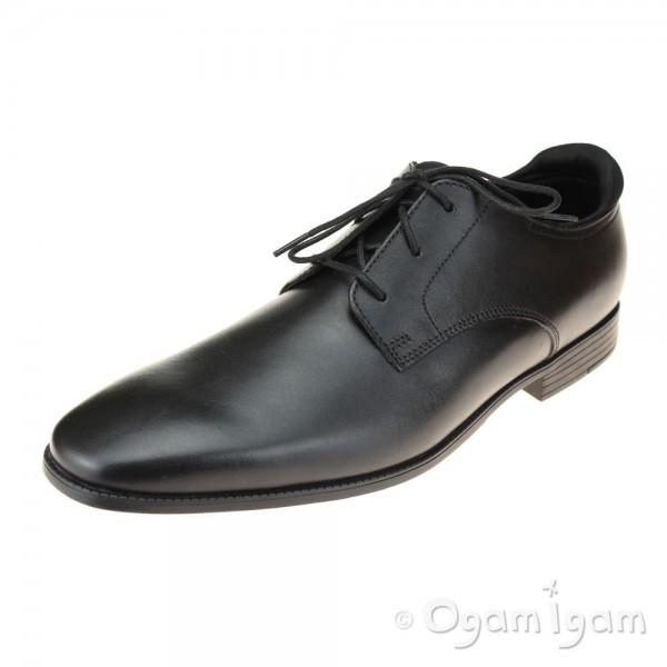 Start-rite Academy Boys Black School Shoe