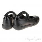 Geox Hadriel Girls Black School Shoe