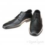 Start-rite Tailor Boys Black School Shoe (Senior)
